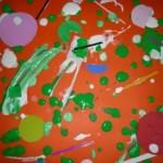 Tecnica di prova per il quadro di Pollock