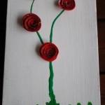 scatola con roselline