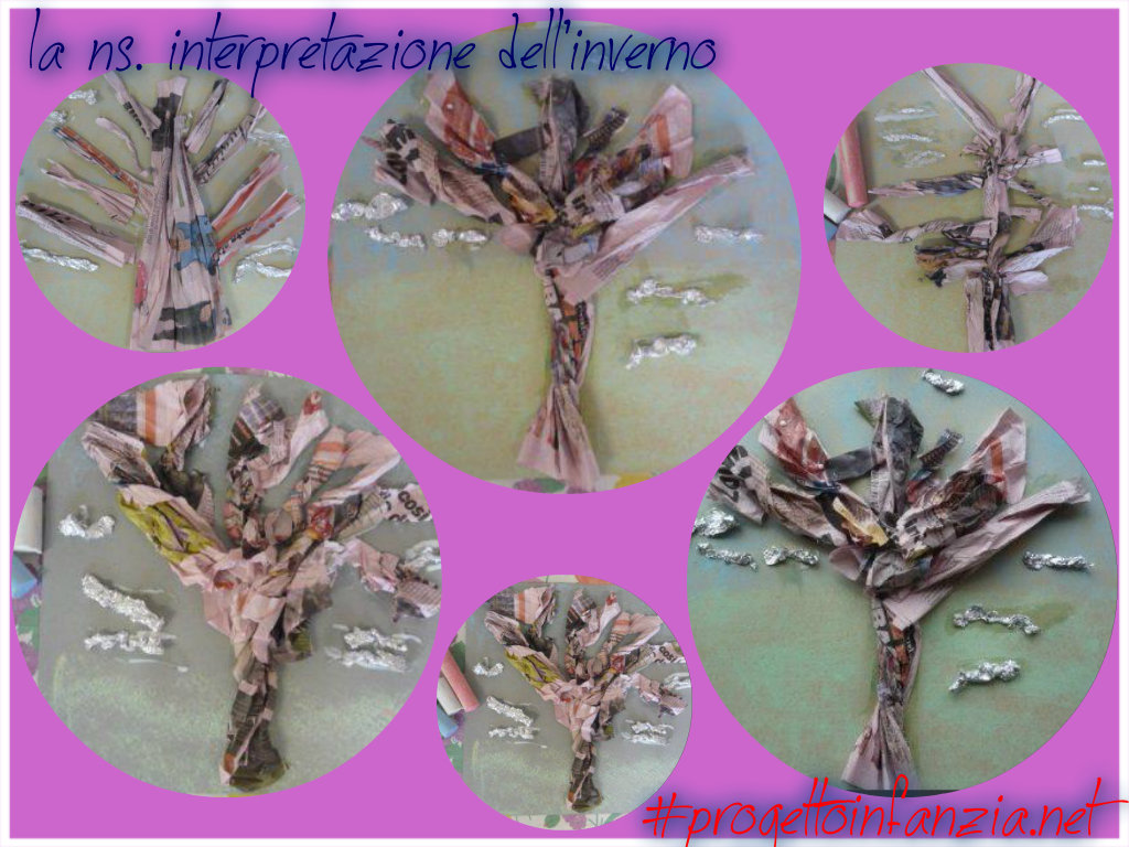 "Preferenza 4 laboratorio: ART and LANGUAGE = L'inverno con "" L'albero e il  VP71"