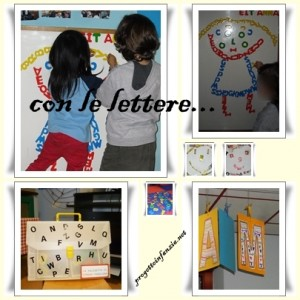 collage lettere