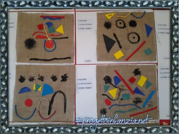 Miró Polimaterico Laboratori Nelle Scuole Laboratori Nelle Scuole