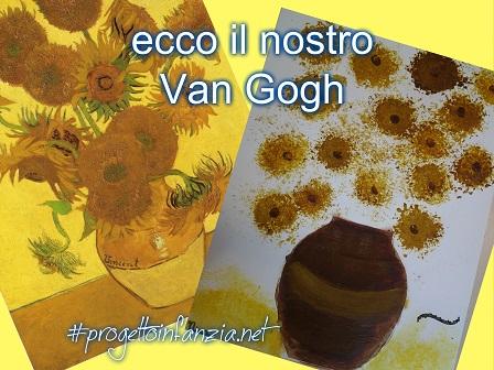 Van gogh e il puntinismo laboratori nelle scuole for Disegni da colorare di van gogh