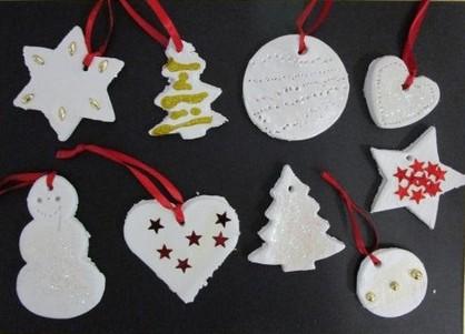 Lavoretti Per Addobbare L Albero Di Natale.Gli Addobbi Per L Albero Di Natale Laboratori Nelle Scuole