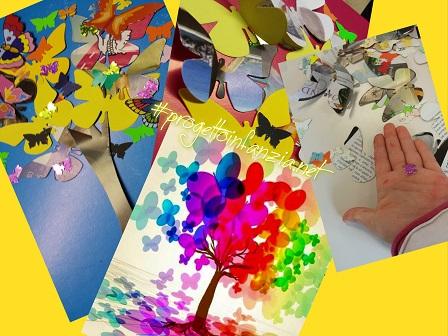 L 39 albero di farfalle laboratori nelle scuole - Immagini di farfalle a colori ...