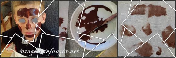 1 facce di cioccolata